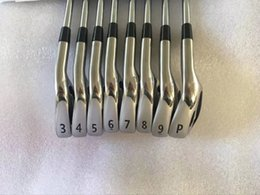 Wholesale Iron Head Golf Forged - A2 718 Iron Set Golf Forged Irons Golf Clubs 3-9P(8PCS) R S-Flex Steel Shaft With Head Cover