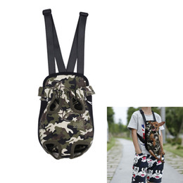 Wholesale Backpack Dog Carriers - China uk Suppliers Fashion Leopard Camo Striped Dog Cat Carrier Backpack Legs Out Front Style Pet Tote Bag Pet Supplies