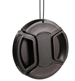 Wholesale Lens Cap 49 - 49 52 55 58 62 67 72 77 82mm Snap-On Front Lens Cap Cover for Canon Nikon sony pentax camera 500d 600d 1200d d5100d d90 d3100