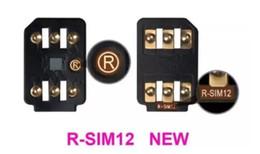Wholesale R Sim 5c - R-SIM12 Card Unlock for all IOS for iphone 5S 5C 6 6S 7 GSM WCDMA LTE GPPLTE USIM X-SIM Onesim