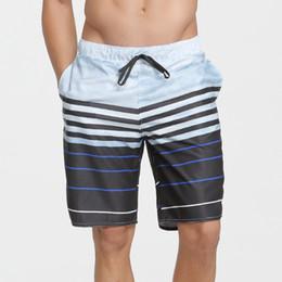 14c05aa41ff93 Summer Mens Quick Dry Swimwear Beach Board Shorts Printed Surfing Briefs  Men Loose Trunks Swim Shorts Plus Size Beach Wear Drop Shipping H