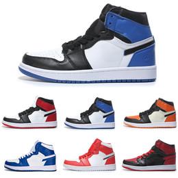 reputable site 37225 96373 königsblaue satinspitzen Rabatt OG 1 Top 3 Herren Basketballschuhe Breed  Zehe Chicago Banned Royal Blue Fragment