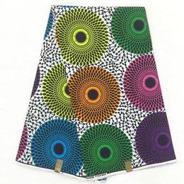 Wholesale Fabric Garments - wax print fabric african cloth real wax block fabric for wedding ankara fabrics garment material 6yards per piece