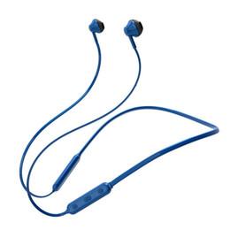 Canada Casque d'écoute mono sport Bluetooth sport magnétique haut de gamme porté au cou par des écouteurs de musique Bluetooth prenant en charge le système Android Apple Offre