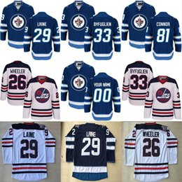 Wholesale Byfuglien Jersey - Mens Womens Youth 29 Patrik Laine Jersey 26 Blake Wheeler 33 Dustin Byfuglien 55 Mark Scheifele Winnipeg Jets Custom Hockey Jerseys