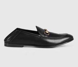 Chaussures de marque de luxe pour hommes Mocassins légers en cuir Mocassins pour hommes Mocassins Homme Légers talons en cuir Mocassins symboliques dorés03 ? partir de fabricateur