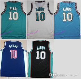 Wholesale Michael New - New 10 Michael Mike Bibby Jersey Men Throwback Stitched Mike Bibby Retro Basketball Jerseys Sports Breathable Vintage Quality Size S-3XL