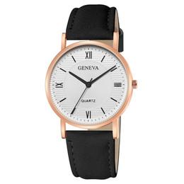 Argentina Momento # N03 DROPSHIP relogio 2018 Reloj de mujer de moda Geneva Leather Band reloj de pulsera de cuarzo Vestido Relojes para hombres Freeship supplier dropship mens fashion Suministro