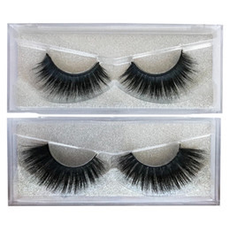6d eyelashes Promo Codes - New Style 6D Faux Mink Eyelashes Custom Private Logo Accepted Handmade Silk Hair Curelty Free Eye Lashes