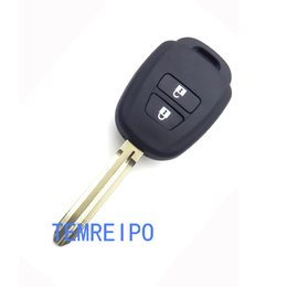 Wholesale Camry Remote - Remote Car Key Shell Case Fob For Toyota CAMRY 2012 2013 2014 2015 Corolla 2014 2015 With TOY43 Blade