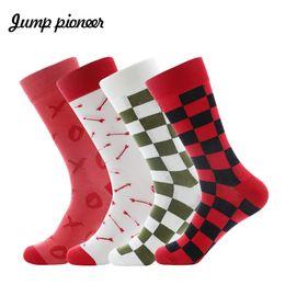 Underwear & Sleepwears Drop Shipping Mens Socks Funny Business Dress Long Socks Cotton Funny Crew Socks Calcetines De Hombre 1 Pair