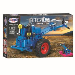 La technologie des blocs de construction assemble des blocs de construction pour garçons, des jouets éducatifs pour enfants et des tracteurs à 248 particules 7069 ? partir de fabricateur