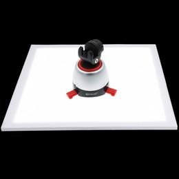 2019 schnelle schlinge kamera PULUZ 1200LM LED Fotografie Shadowless Bodenlicht mit Schalter, Acryl Material, kein Polar Dimmen Licht