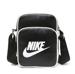 Mens designer cross corpo sacos on-line-Mens Cross Body Bags Com LetterTick Impresso Designer de Moda Maré de Luxo Bolsa de Ombro Para As Mulheres Com Zíper Da Marca