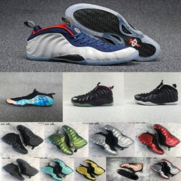 Wholesale Usa Olympic Basketball - 2018 Flight One PRM Galaxy 2.0 Olympic USA White Blue Red Penny Hardaway 1 Basketball Shoes for AAA+ quality Training Sports Sneakers 41-46