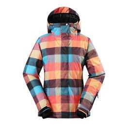 GSOU SNOW Women s Double Single Board Ski Suit Winter Windproof Waterproof  Wear-resistant Warm Ski Jacket For Women Size XS-XL 370d283ed