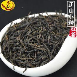 Fumare il tè nero online-250g Cina Organic Wuyi Lapsang Souchong Tea Zheng Xiao Shan Zhong tè nero fumo senza abbassare la pressione sanguigna