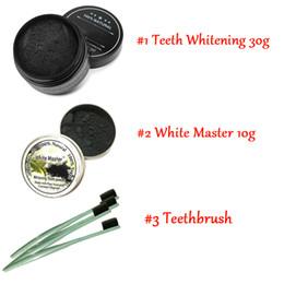 Gomme de nettoyage des dents en Ligne-Poudre de dent et de gomme de nettoyage pour dents de charbon actif entièrement naturelles et organiques Dents totales blanches 30g