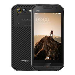 Wholesale Shockproof Waterproof Gps Phone - DOOGEE S30 Unlocked Cell phones 5''Inch HD Quad Core 2GB  16GB Android 7.0 4G Smart Phone 3 Cams IP68 Shockproof Waterproof Smartphones