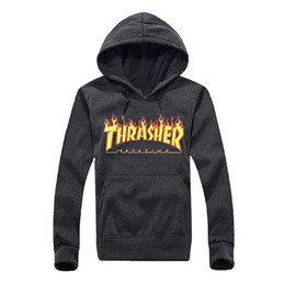 Wholesale Hoodie Youth - Brand Designer Men Hoodie Sweatershirt Sweater Mens Hoodies Luxury Brand Clothing Thin Long Sleeved Youth Movements Streetwear