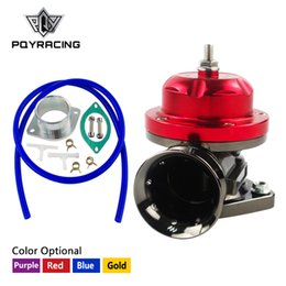 Wholesale dump valve - PQY RACING - Universal Type-RS Turbo Blow off Valve Adjustable 25psi BOV Blow dump Blow off adaptor PQY5763