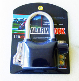 Wholesale Electronic Door Keys - Siren Alarm Lock With Keys Anti-Theft Security System for Door Bike Motorcycle Lock Bicycle Electronic Padlock Alarm Lock