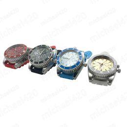 Wholesale grinder watches - A Gentleman StyleTop Brand Wrist Watch shape Grinder 2 layers Tobacco Grinder mini Herb Crusher Metal Hot sale