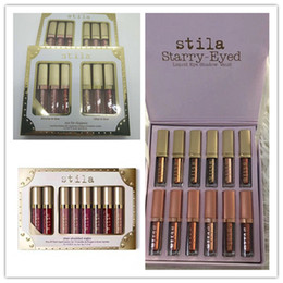 Hot makeup Stila Collection Star-studded Eight lipstick set Shimmer Glow for Eye Starry-Eyed Liquid Eyeshadow High quality By Epacket Deals