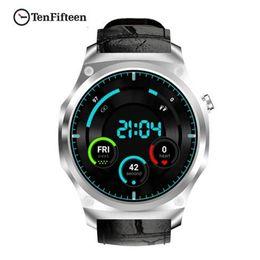 2019 telefono impermeabile della vigilanza 3g F2 3G Smartwatch Phone IP65 Impermeabile 1.39inch Android5.1 MTK6580 1.0GHz 16GB ROM GPS Cardiofrequenzimetro Smart Watch sconti telefono impermeabile della vigilanza 3g