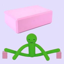 massaggio attrezzature all'ingrosso Sconti Mattone di yoga ad alta densità di Eva Pratica danza mattone di apertura morbida Il mattone di esercizio ausiliare yoga gamba mattone.