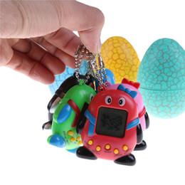 Wholesale Tumbler Battery - 1 Set Dinosaur Egg Tumbler Virtual Network Digital Pet Electronic Pet Penguin Vintage Funny Toy