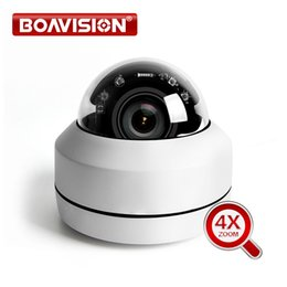Hd ptz camera visione notturna online-Telecamera IP 1080p PTZ Speed Dome 5MP Full HD Onvif Zoom 4X P2P 40m IR Night Vision Impermeabile P2P 2MP Outdoor Dome POE PTZ IP Cam