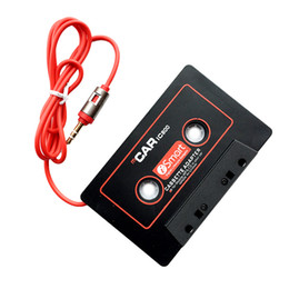 cassette tape mp3 converter Coupons - Digital MP3 player CD Mobile To Cassette Converter Audio Music Player Convert music on tape to Car Auto 3.5mm Audio Plug