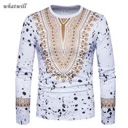 Ropa africana online-3d africa ropa para hombre moda dashiki camisetas hip hop ropa africana marca mundial ropa casual hombre tops tees
