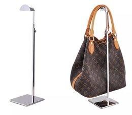 Visualizza la borsa online-Portaborse in metallo regolabile Portaborse da esposizione Borsa da donna Borsa da esposizione Porta parrucca cappello sciarpe gancio stand