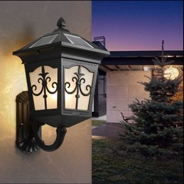 f5a49f7fd593f Solar wall light outdoor waterproof courtyard outdoor garden home wall  aisle corridor wall lamp balcony pillar