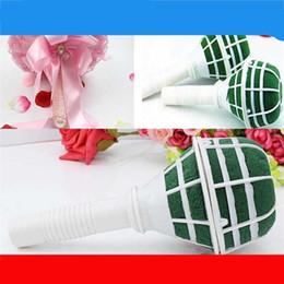 paquete de barro Rebajas Fuentes de la fiesta de bodas Receptáculo floral con fango de la novia Ramo de flores Accesorios para soporte de espuma Material de embalaje de alta calidad 1 35ll Ww