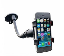 Wholesale Apple Suction Cups - Car Mount,Long Arm Universal WindshieldDashboard Cell Phone Car Holder with Strong Suction Cup for iPhone 7 8 samsung s8 s9 top quality