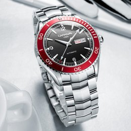 061895715b2 2019 relógio homens safira Japão MIYOTA Movimento Carnaval Automático  Mecânico Simples Relógios Dos Homens Mergulhador Sports