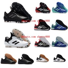 Wholesale copa football boots - 2018 new arrival original soccer cleats Copa Tango 18.1 TF IN football boots mens soccer shoes Copa 18.1 FG football shoes