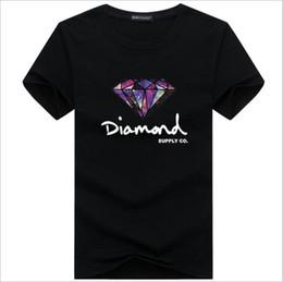 Wholesale diamond t shirts - Fashion t shirt diamond co men women clothe 2018 Casual short sleeve tshirt men Brand designer Summer tee shirts