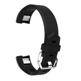 ersatz für uhren Rabatt 2017 hohe Qualität Ersatz Armband Silikonband Verschluss Für Fitbit Alta HR Smart Uhr Armband 40 MM May04 # 2