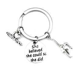bee key Promo Codes - Friendship Baby Guardian Angel Wing I'm Your Person You're My Person Keychains Unicorn Gymnastics Key Rings Bees Key Chains