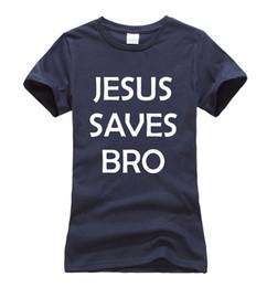 7d585a0f40fdd7 2019 maglie stampate jesus Tee da donna Super Jesus Christ 2017 Estate  Nuovo arrivo Gesù salva