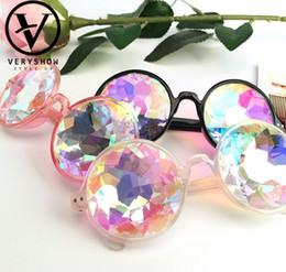f5228ff5f3d60 Deisgner crianças óculos de sol caleidoscópio festa de dia das crianças  accessoires meninos legal ciclismo óculos de sol meninas lente colorida  praia ...