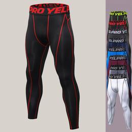 Hommes Collants d'entraînement à séchage rapide Skinny Legging Joga Pantalons en gros ? partir de fabricateur