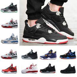 6f9403153fc50e reine spitze weiß Rabatt Hot 4s Herren Basketball Schuhe Spiel Royal  Thinker Oreo Eminem Weiß Zement