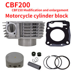 Wholesale Engine Air Cooled - 2088 Engine Cylinder Kit Honda CBF200 Motorcycle Cylinder Kit With Piston Cylinder block And Pin for HONDA SANYA UFB