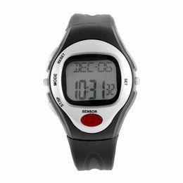 alarme de pouls Promotion Cardiofréquencemètre Calories Compteur Montre de Fitness Montres Numériques Calendrier Affichage Heure Stop Montre Alarme A43