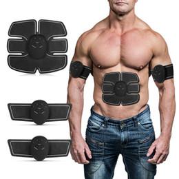 almofadas de gel de substituição Desconto treino abdominal EMS Trainer Abdominal Muscle Trainer Estimulador Muscular Fitness Vibration Plate EMS Estimulação Slim Body Massager Toning ...